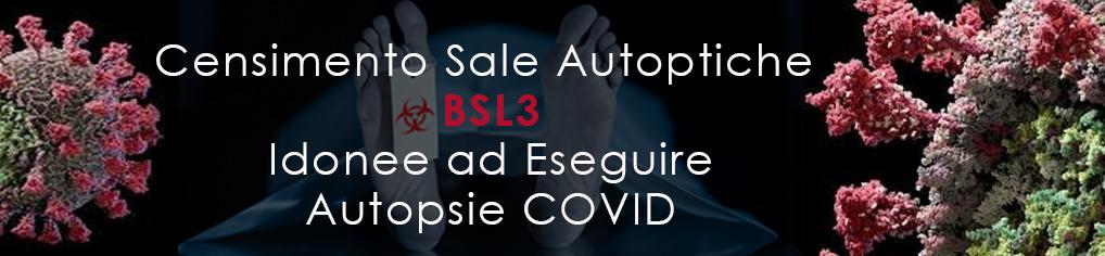 Censimento Sale Autoptiche per Autopsie COVID